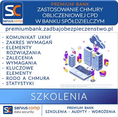 SZKOLENIE ZASTOSOWANIE CHMURY OBLICZENIOWEJ CPD W BANKU SPÓŁDZIELCZYM