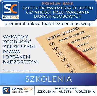 ZALETY PROWADZENIA REJESTRU CZYNNOŚCI PRZETWARZANIA DANYCH OSOBOWYCH W BANKU SPÓŁDZIELCZYM